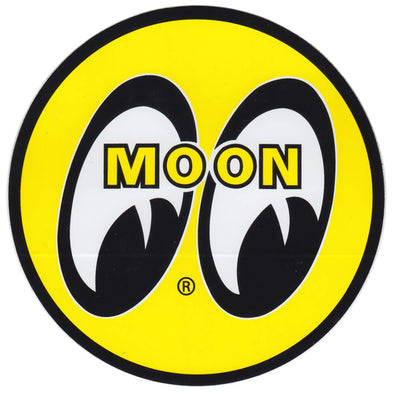 MOON Eyeball Logo Sticker - Large