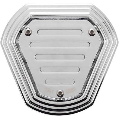 Hex Air Cleaner - Chrome - 1993-2007 Harley-Davidson Evo and Twin Cam