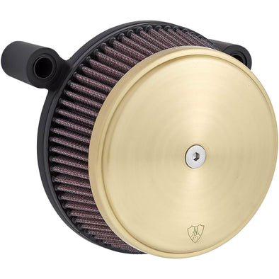 Big Sucker Stage 1 Air Filter Kit - Brass - 2008-17 Harley-Davidson Throttle By Wire Models