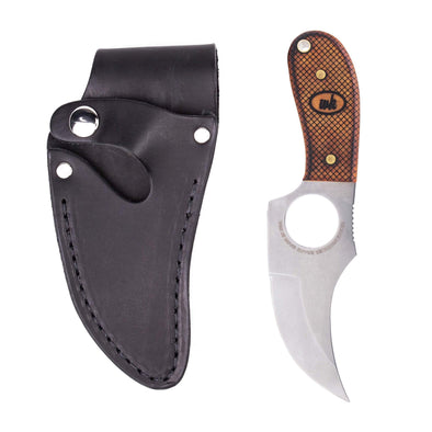 Checkered Fade Convertible III Knife - Right Hand - Black Sheath