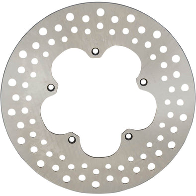 Drilled Stainless Steel Brake Rotor - 11.5 inches - Replaces Harley-Davidson OEM# 41807-74