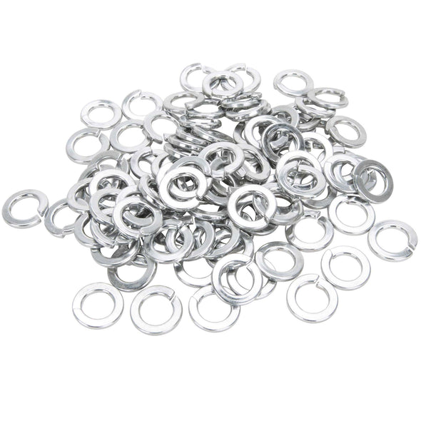 #12MM-L-100 12mm Chrome Plated Lock Washers Bag of 100