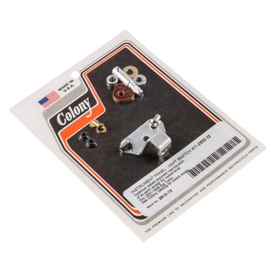 #2810-13 Instrument Panel Light Switch Kit Harley Big Twins 1937-38