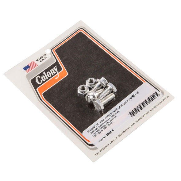 #2884-6 Magneto Adapter Plate Screw CAD OEM 29601-48 Harley ELCH 58-62