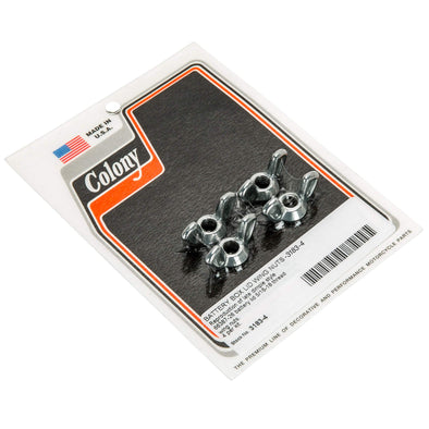 Colony #3183-4 Battery Wing Nuts CAD 5/16-18