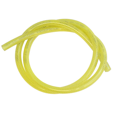 Reinforced Translucent Fuel Line - Yellow - 1/4 inch ID