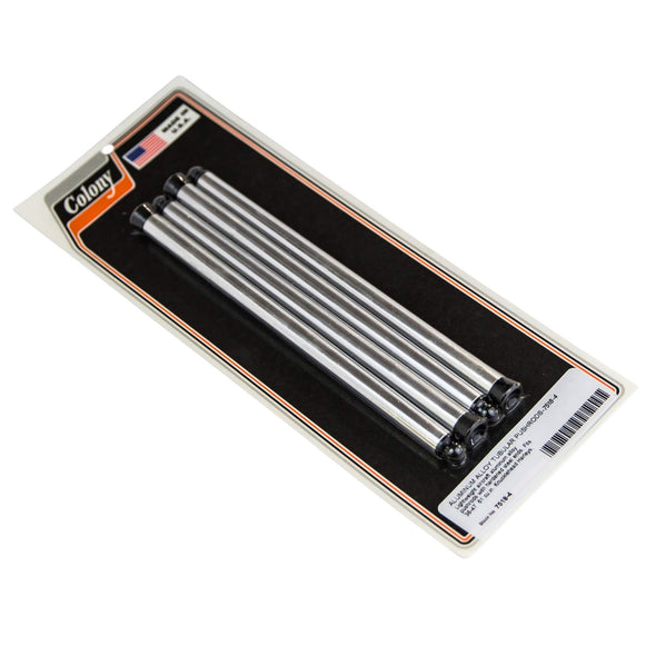 #7518-4 Aluminum Alloy Tubular Pushrods Fit 1936-47 61 cu. in. H-D Knuckleheads