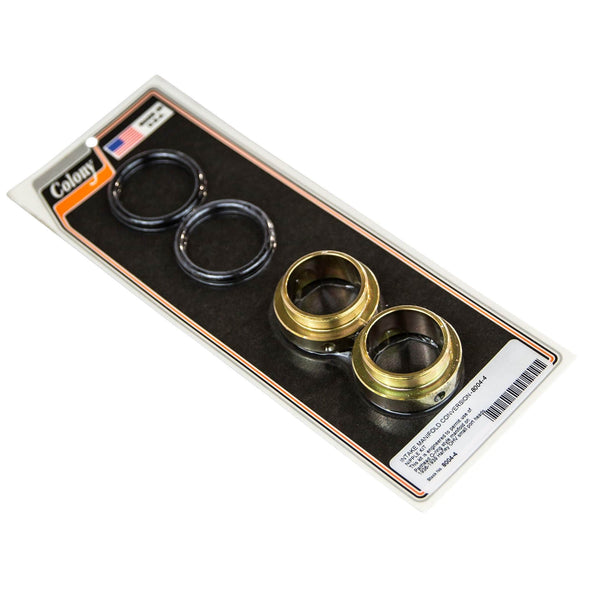 #8004-4 Intake Manifold Conversion Nipple Kit Use Panhead O-ring Style Manifold on 1936-39 H-D OHV Small Port Heads