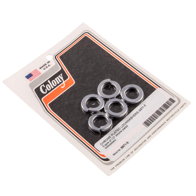 #9971-5 1/2 inch Chrome Plated Lock Washers 5 pack
