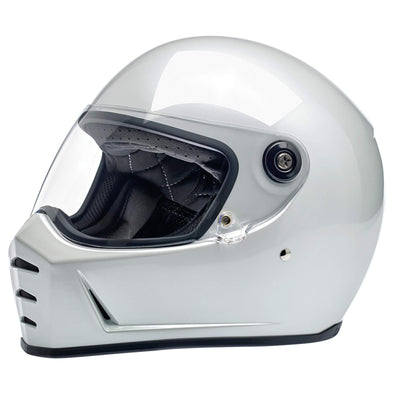 Lane Splitter DOT/ECE Approved Full Face Helmet - Metallic Pearl White