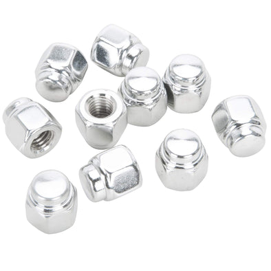 #CN-218 8 MM (1.25) Chrome Cap Nut 10 pack