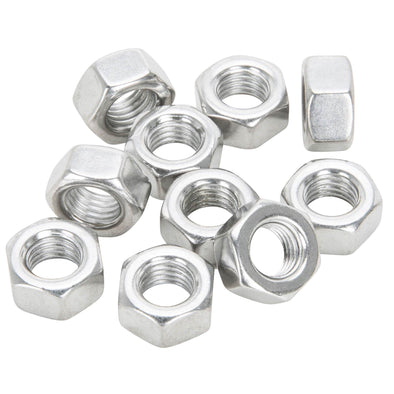 #HN-401 5/16-24 Chrome Hex Nut 10 pack