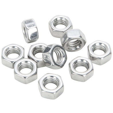 #HN-407 5/16-18 Chrome Hex Nut 10 pack