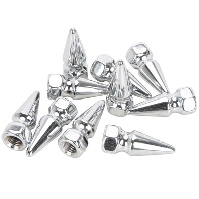 #PN-303 5/16-24 Chrome Pike Nut 10 pack