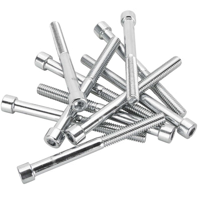 #PSHC-208 1/4-24 x 2-3/4 length Chrome Polished Allen Bolt 10 pack