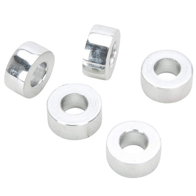 #SPC-002 1/4 ID x 1/4 length Chrome Steel Universal Spacer 5 pack