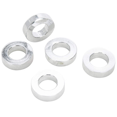 #SPC-028 1/2 ID x 1/4 length Chrome Steel Universal Spacer 5 pack