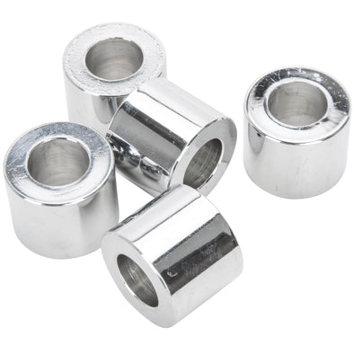 #SPC-031 1/2 ID x 3/4 length Chrome Steel Universal Spacer 5 pack