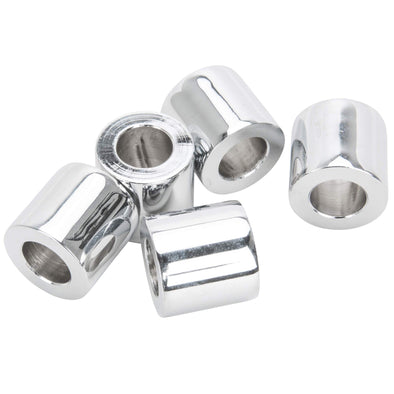 #SPC-041 1/2 ID x 7/8 length Chrome Steel Universal Spacer 5 pack