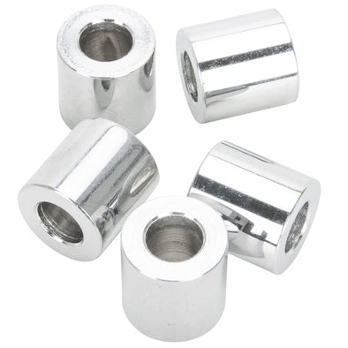#SPC-043 5/16 ID x 5/8 length Chrome Steel Universal Spacer 5 pack