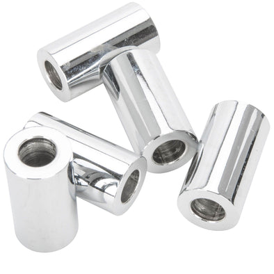 #SPC-051 5/16 ID x 1-1/8 length Chrome Steel Universal Spacer 5 pack