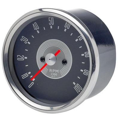 Smiths Tachometer Replica - Grey Face 4:1 Ratio - For Triumph Motorcycles