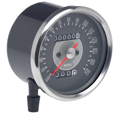 Smiths Speedometer Replica - Grey Face 1:1.25 Ratio - For Triumph Motorcycles
