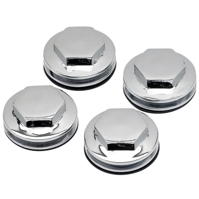 Rocker Box Caps / Covers for Triumph Motorcycles 1963 - 1972 - Chrome