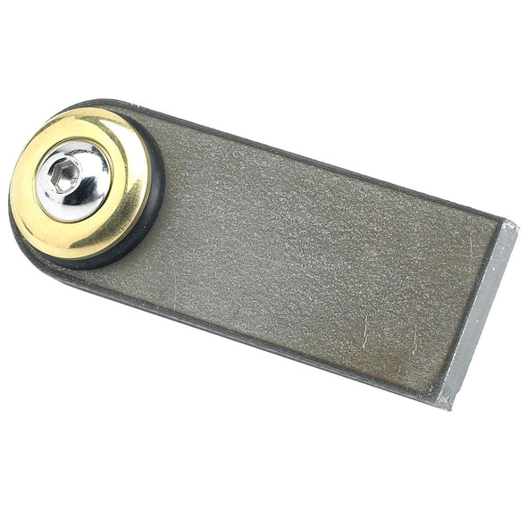Rubber Mount Finger Tabs - 1/4 inch thick - Brass Washer