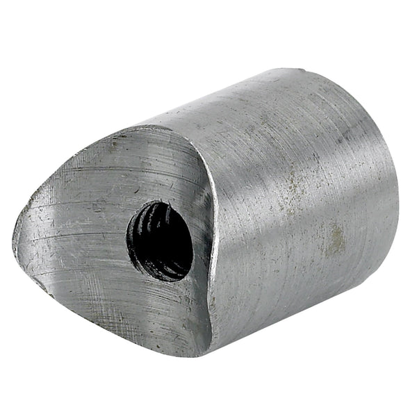 Coped Steel Bungs 1 inch Dia. 1 inch long - 3/8-16 thread - 2 pack