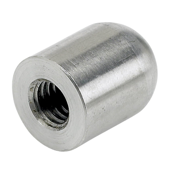 Full Radius Threaded Stainless Steel Bungs 3/8-16 thread - 4 pack