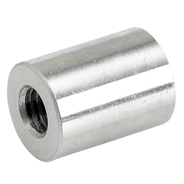 Threaded Stainless Steel Bungs 1 inch long - 3/8-16 thread - 4 pack