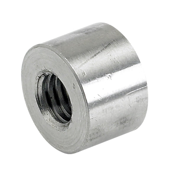 Threaded Stainless Steel Bungs 1/2 inch long - 3/8-16 thread - 4 pack