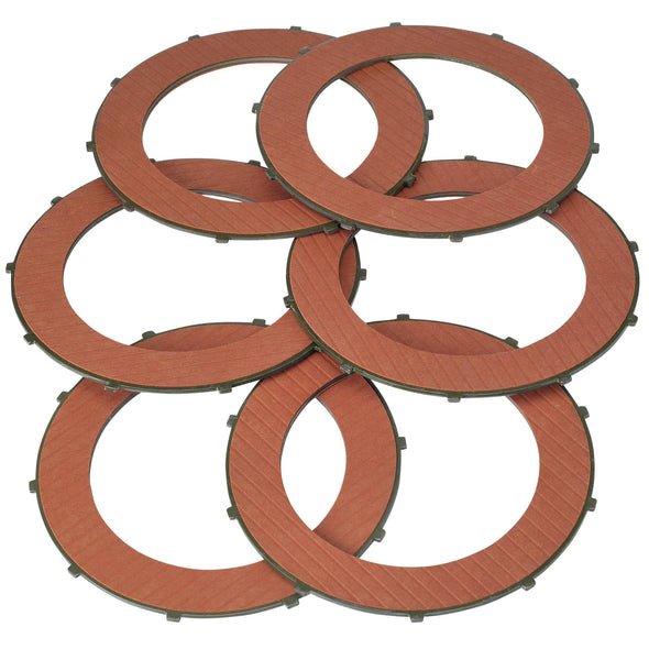 Clutch Plates - Fiber / Kevlar - For Triumph / BSA Motorcycles - Made in the USA OEM #57-4763
