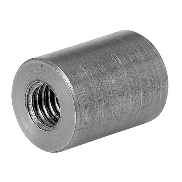 Threaded Steel Bungs 1 inch long - 3/8-16 thread - 4 pack