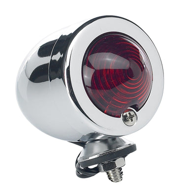 Bullet Tail Light / Turn Signal - Chrome
