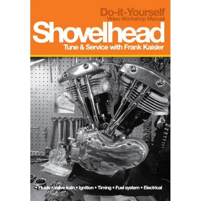 Harley-Davidson Shovelhead Tune & Service Video Workshop Manual DVD with Frank Kaisler