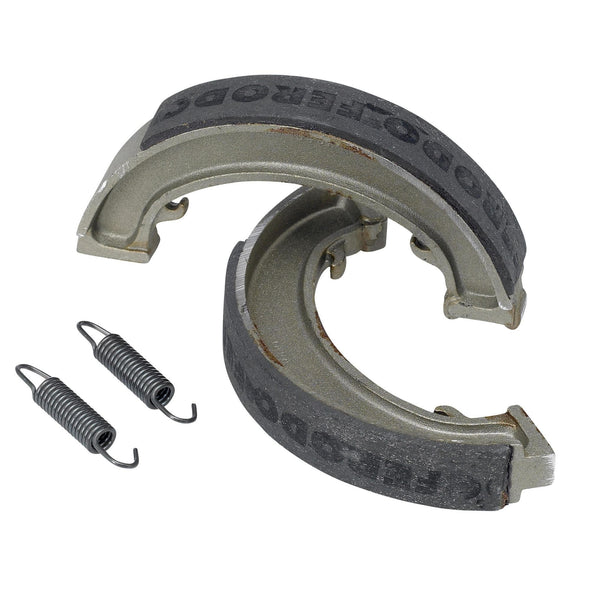 Brake Shoes for Triumph Rear Drum Ferodo Brand 1947 - 70 #37-1406 / 36-1407