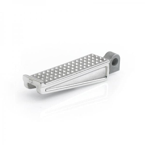 Sanderson Cast Polished Stainless Foot Pegs