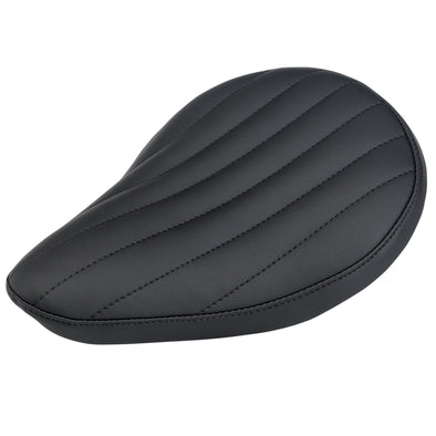 Vertical Pleated Solo Seat - Black