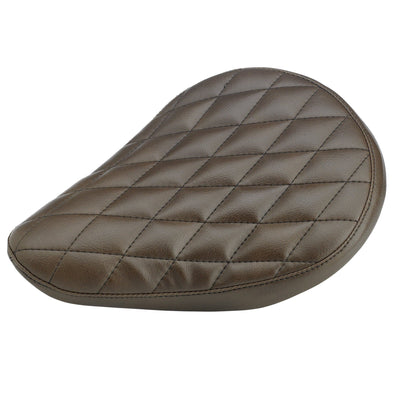 Diamond Pattern Solo Seat - Brown