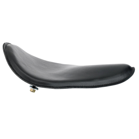 Black Leather Solo Seat