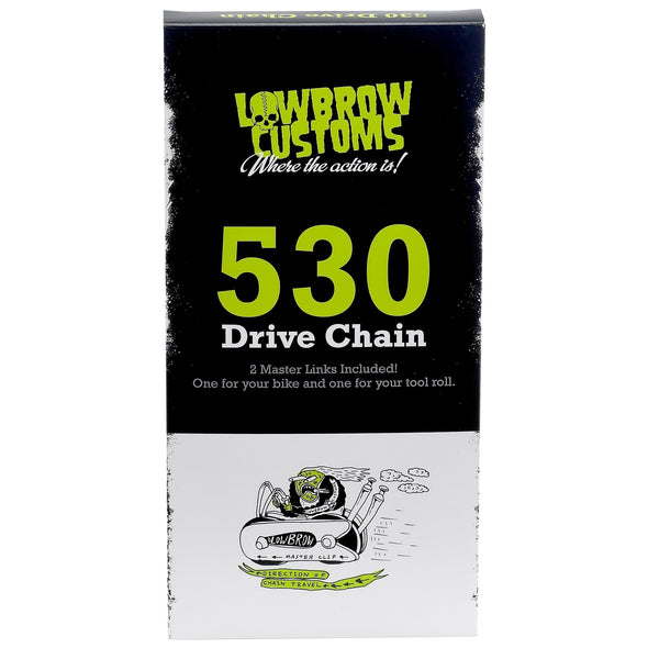 530 Motorcycle Drive Chain - 130 Links with 2 Master Links