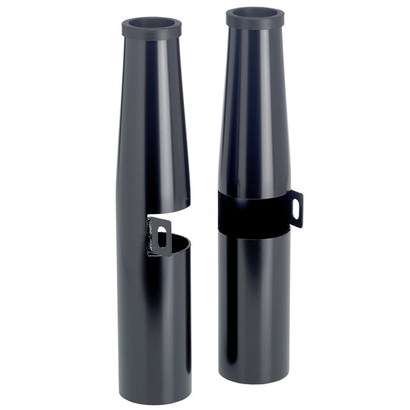 39mm Fork Shrouds - Black