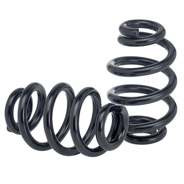 Solo Seat Springs - Barrel Style - 3 inch Black