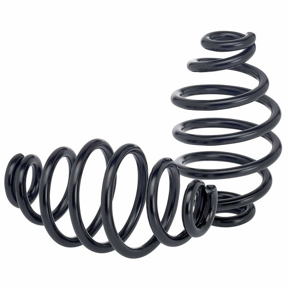 Solo Seat Springs - Barrel Style - 4 inch Black