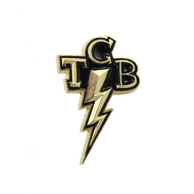 TCB Takin' Care of Business Lapel Pin - Fink Style