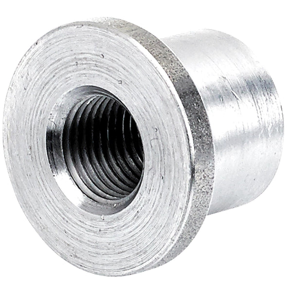 Tophat Threaded Aluminum Bung 1/8 inch NPT - 4 pack
