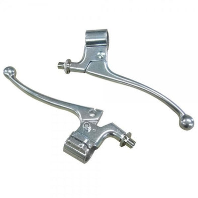 Alloy Brake and Clutch Levers Control Set for 7/8 inch Bars