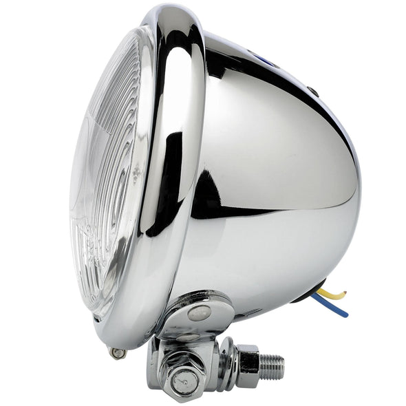 4-1/2 inch diameter Chrome Early Model Headlight